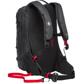 Black Diamond JetForce Pro Sac à dos Split 25l, black
